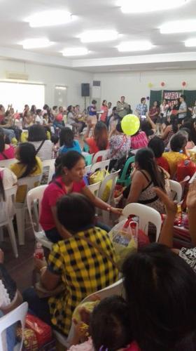 Christmas Party ng mga Barangay Health Workers ng Santa Ignacia,Tarlac