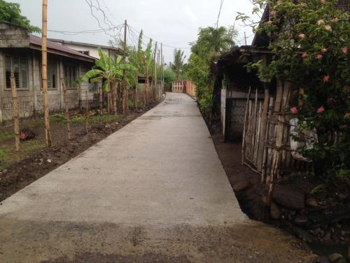 Concreting of Barangay road at Barangay San Francisco, Santa Ignacia, Tarlac