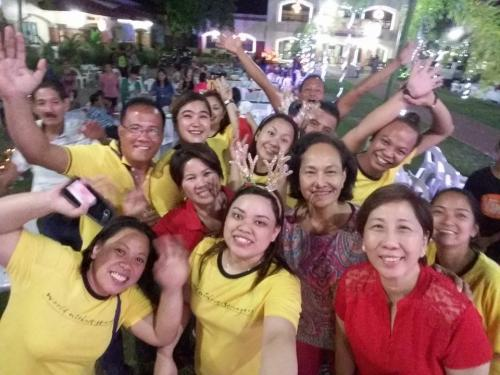 LGU - Christmas Party 2016... Mayors Office Staff with Mayor Nora T. Modomo, Vice Mayor Noel C. Antonio, Councilor, Donna D. Follosco, Councilor Edmund Pasamonte and Councilor Nathaniel L. Tan