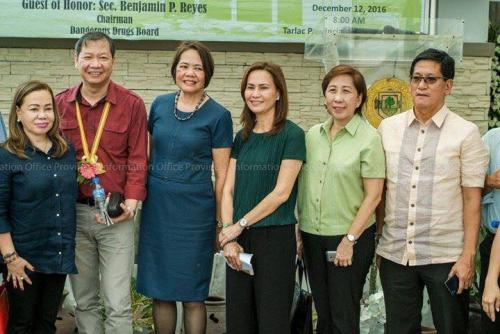 Our Beloved Mayor Nora T. Modomo together with Councilor Donna D. Follosco attended the Tarlac Drug Abuse Treatment