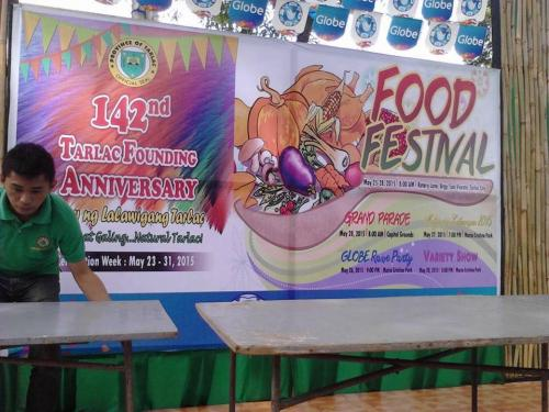 Remembering year 2015 Tarlac food festival