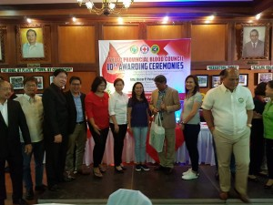 Congratulations Mayor Nora T. Modomo and Santa Ignacia for recieving an Award of Appreciation during Tarlac Provincial Blood Council 10th Awarding Ceremonies (5)