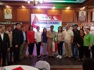 Congratulations Mayor Nora T. Modomo and Santa Ignacia for recieving an Award of Appreciation during Tarlac Provincial Blood Council 10th Awarding Ceremonies (7)