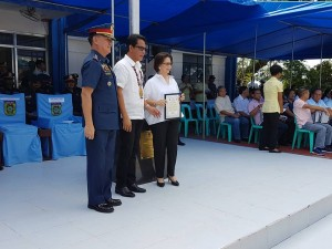 Congratulations Mayor Nora T. Modomo, for another award at the 116th PNP Anniversary celebration at Camp Macabulos, Tarlac (11)