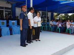 Congratulations Mayor Nora T. Modomo, for another award at the 116th PNP Anniversary celebration at Camp Macabulos, Tarlac (17)