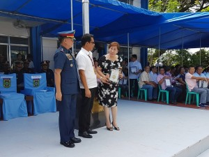 Congratulations Mayor Nora T. Modomo, for another award at the 116th PNP Anniversary celebration at Camp Macabulos, Tarlac (3)