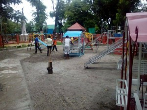Construction of the Santa Ignacia Playground (3)