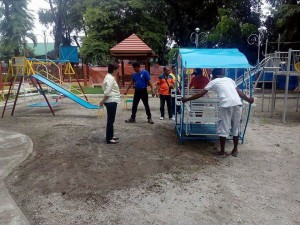 Construction of the Santa Ignacia Playground (4)