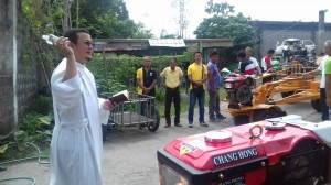 Distribution and Blessing of 24 units Hand Tractors for each barangay, 12 units of Grass Cutters and 2 Units of Mini Dump Trucks (13)