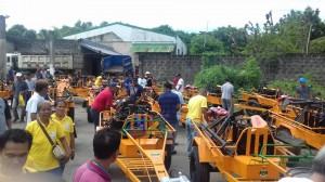 Distribution and Blessing of 24 units Hand Tractors for each barangay, 12 units of Grass Cutters and 2 Units of Mini Dump Trucks (3)