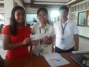 Distribution of 60  Salary of SPES (1ST Batch) Beneficiaries with PESO and DOLE at Santa Ignacia (4)