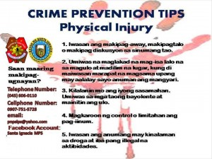 IWAS AKYAT-BAHAY SAFETY TIPS and PHYSICAL INJURY (1)