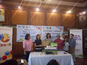 MOA Signing and TECH4ED Center Launching of the Provincial Government of Tarlac. One of the beneficiary is Barangay Vargas, Santa Ignacia, Tarlac (10)