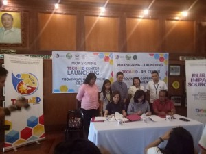 MOA Signing and TECH4ED Center Launching of the Provincial Government of Tarlac. One of the beneficiary is Barangay Vargas, Santa Ignacia, Tarlac (15)