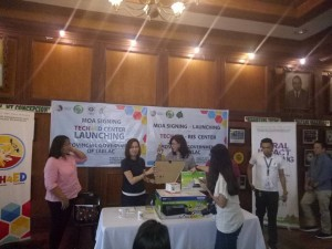 MOA Signing and TECH4ED Center Launching of the Provincial Government of Tarlac. One of the beneficiary is Barangay Vargas, Santa Ignacia, Tarlac (16)