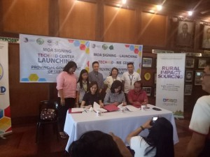 MOA Signing and TECH4ED Center Launching of the Provincial Government of Tarlac. One of the beneficiary is Barangay Vargas, Santa Ignacia, Tarlac (3)