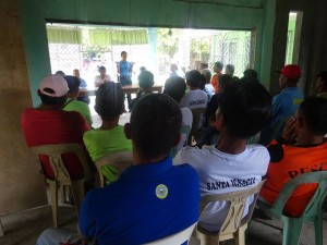 PNP personnel of Santa Ignacia Police Station led by SPO4 ROEL I DOMINGO, MESPO conducted barangay visitation  (2)