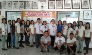 Payment of 60 salaries of twenty 1st batch SPES beneficiaries deployed in different offices here in LGU Santa Ignacia (7)