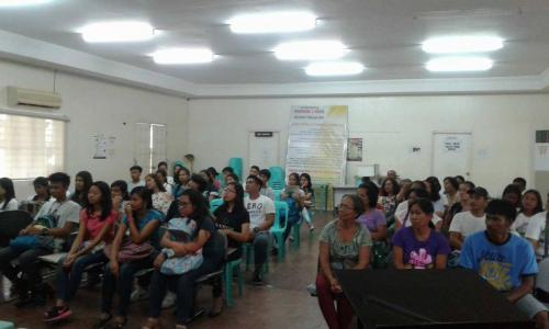 An Orientation to the beneficiaries and guardians of Special Program for the Employment of Students (SPES) Project (10)