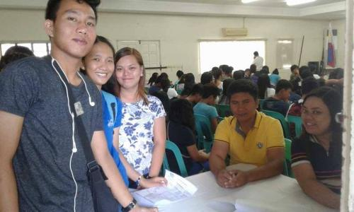 An Orientation to the beneficiaries and guardians of Special Program for the Employment of Students (SPES) Project (12)
