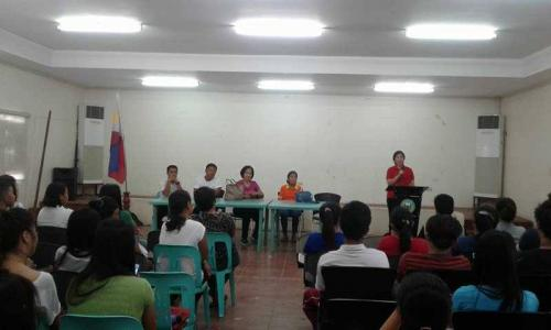 An Orientation to the beneficiaries and guardians of Special Program for the Employment of Students (SPES) Project (14)