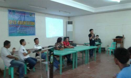 An Orientation to the beneficiaries and guardians of Special Program for the Employment of Students (SPES) Project (15)