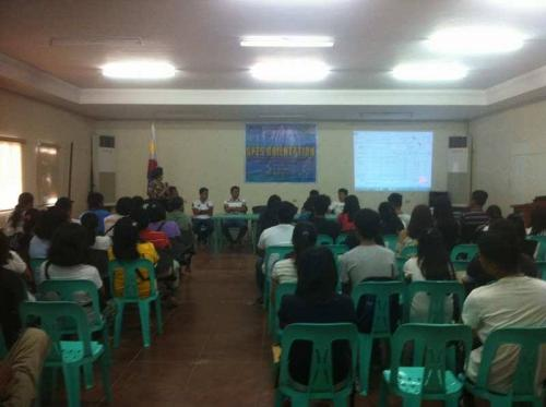 An Orientation to the beneficiaries and guardians of Special Program for the Employment of Students (SPES) Project (19)