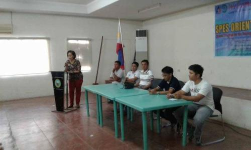 An Orientation to the beneficiaries and guardians of Special Program for the Employment of Students (SPES) Project (21)