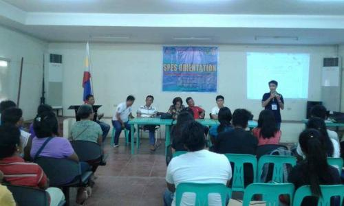 An Orientation to the beneficiaries and guardians of Special Program for the Employment of Students (SPES) Project (23)