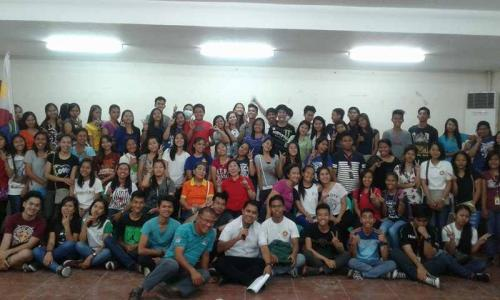 An Orientation to the beneficiaries and guardians of Special Program for the Employment of Students (SPES) Project (27)