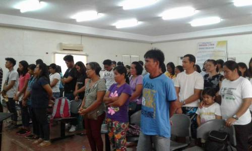 An Orientation to the beneficiaries and guardians of Special Program for the Employment of Students (SPES) Project (4)