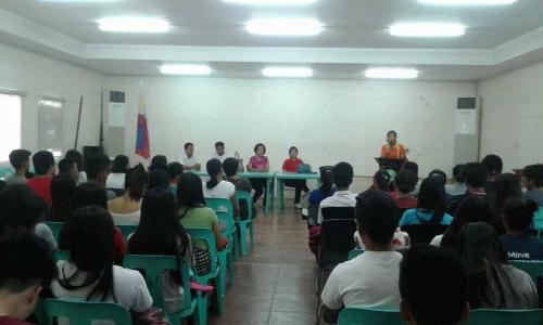 An Orientation to the beneficiaries and guardians of Special Program for the Employment of Students (SPES) Project (7)