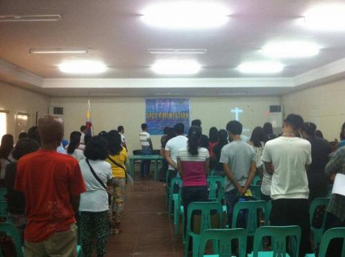 An Orientation to the beneficiaries and guardians of Special Program for the Employment of Students (SPES) Project (8)
