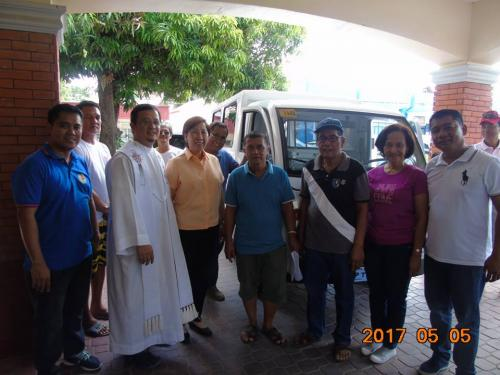 Blessing and awarding of the two RESCUE VEHICLES for Brgy. Poblacion West and Brgy. Taguiporo