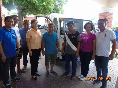 Blessing and awarding of the two RESCUE VEHICLES for Brgy. Poblacion West and Brgy. Taguiporo (12)