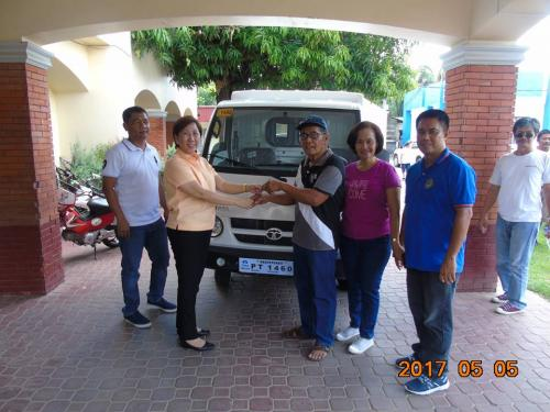 Blessing and awarding of the two RESCUE VEHICLES for Brgy. Poblacion West and Brgy. Taguiporo (13)