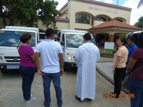 Blessing and awarding of the two RESCUE VEHICLES for Brgy. Poblacion West and Brgy. Taguiporo (3)