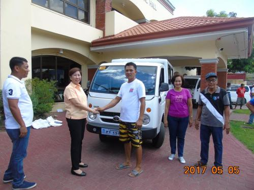 Blessing and awarding of the two RESCUE VEHICLES for Brgy. Poblacion West and Brgy. Taguiporo (4)