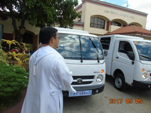 Blessing and awarding of the two RESCUE VEHICLES for Brgy. Poblacion West and Brgy. Taguiporo (5)