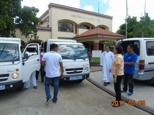 Blessing and awarding of the two RESCUE VEHICLES for Brgy. Poblacion West and Brgy. Taguiporo (6)
