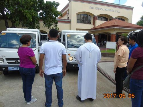 Blessing and awarding of the two RESCUE VEHICLES for Brgy. Poblacion West and Brgy. Taguiporo (7)