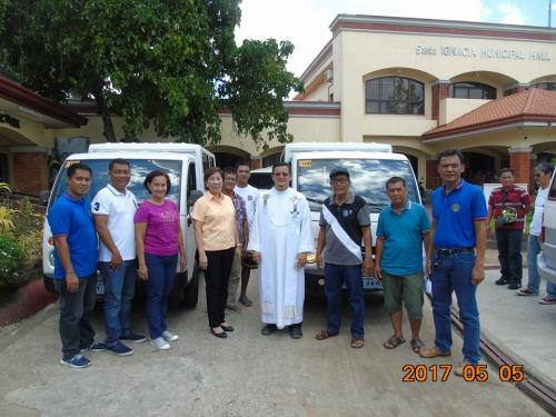 Blessing and awarding of the two RESCUE VEHICLES for Brgy. Poblacion West and Brgy. Taguiporo (8)