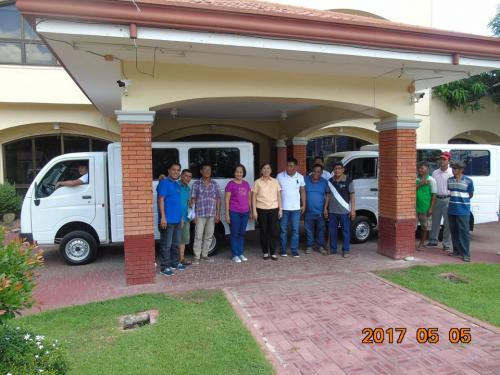 Blessing and awarding of the two RESCUE VEHICLES for Brgy. Poblacion West and Brgy. Taguiporo (9)