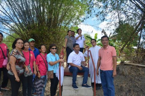 Blessings and inauguration of the road in Purok Pao, the Footbridge in Purok 6, and Improvement of the Barangay Plaza in Nambalan (1)