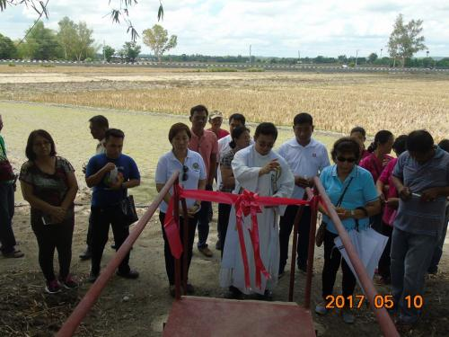 Blessings and inauguration of the road in Purok Pao, the Footbridge in Purok 6, and Improvement of the Barangay Plaza in Nambalan