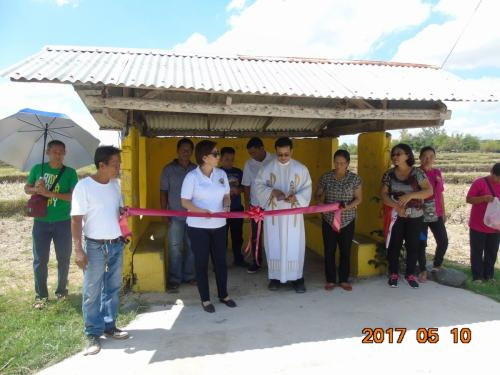 Blessings and inauguration of the road in Purok Pao, the Footbridge in Purok 6, and Improvement of the Barangay Plaza in Nambalan (2)
