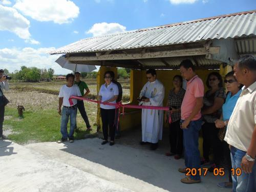 Blessings and inauguration of the road in Purok Pao, the Footbridge in Purok 6, and Improvement of the Barangay Plaza in Nambalan (4)