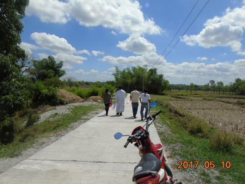 Blessings and inauguration of the road in Purok Pao, the Footbridge in Purok 6, and Improvement of the Barangay Plaza in Nambalan (5)