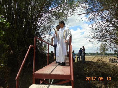 Blessings and inauguration of the road in Purok Pao, the Footbridge in Purok 6, and Improvement of the Barangay Plaza in Nambalan (7)