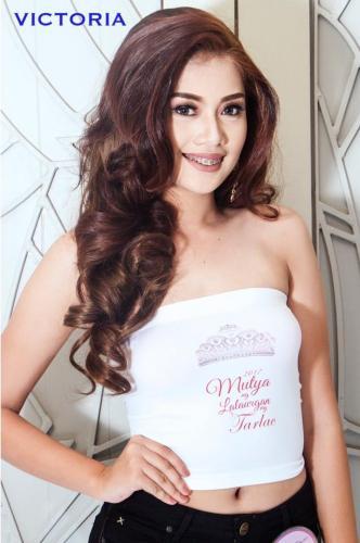 Victoria - Candidates of Mutya ng Lalawigan ng Tarlac 2017